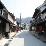 勝山の商店街