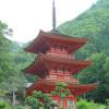 長福寺の三重塔
